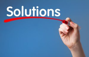 Solutions Company Branding Sign Design