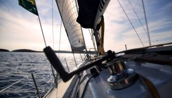 Sailing into the sunrise