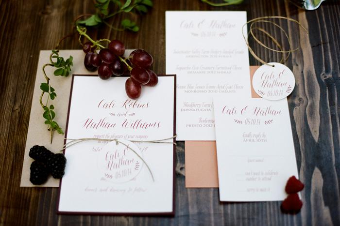 Wine Theme Wedding Ideas 5