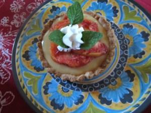 Italian Fruit Tart recipe, from Tinky Weisblat
