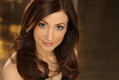 "Hend Ayoub performs as Samar in ""Veils"" 10/4–10/18 at Barrington Stage Company."
