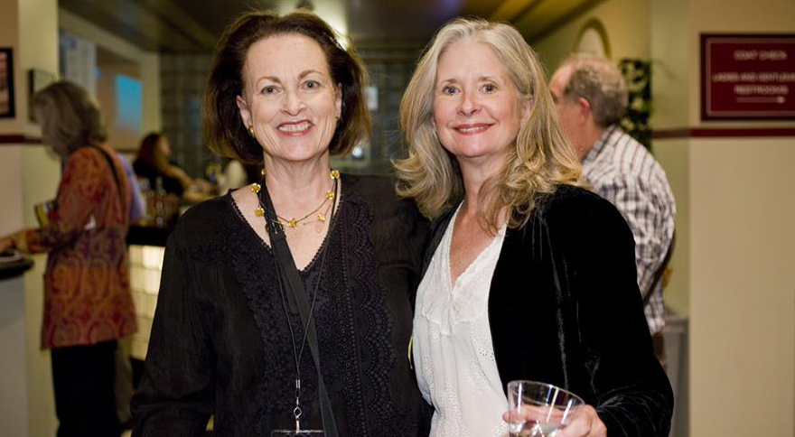 Hilary Deely and Barbara Sims; submitted photo