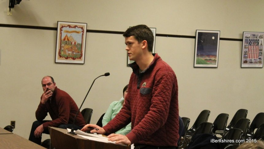 Ethan Lillie was one of a dozen skateboarders who oppose limiting the skate park's hours.