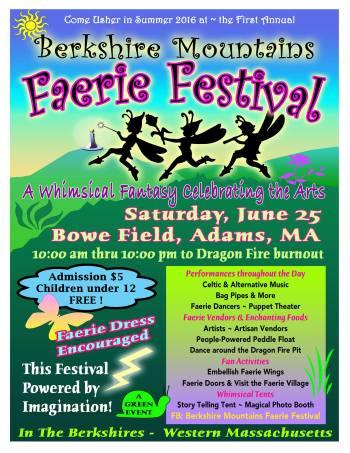 Berkshire Mountain Faerie Festival, June 25, 2016