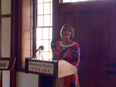 Jennifer Trainer Thompson is expected to bring a wealth of arts/cultural institution experience to Hancock Shaker Village (photo, Jason Velázquez).