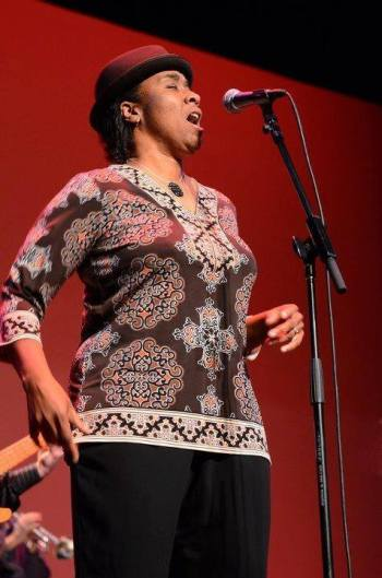 """Frontwoman and founding member Gina Coleman credits an appearance in a Williamstown Theatre Festival production of """"A Raisin in the Sun"""" in part for leading her down the path to the Blues (submitted photo)."""