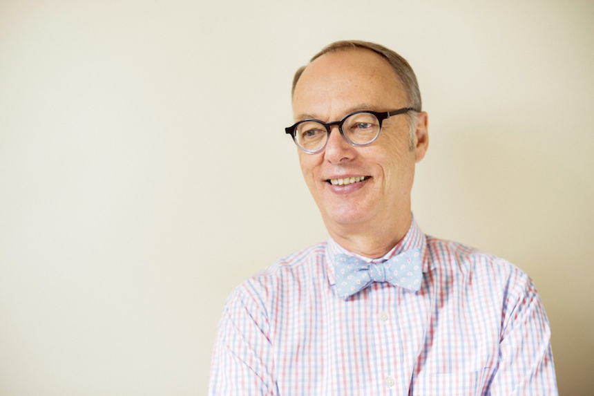 Christopher Kimball has a lot on his plate with his new cooking platform, Christopher Kimball's Milk Street (photo courtesy CPK Media, LLC)