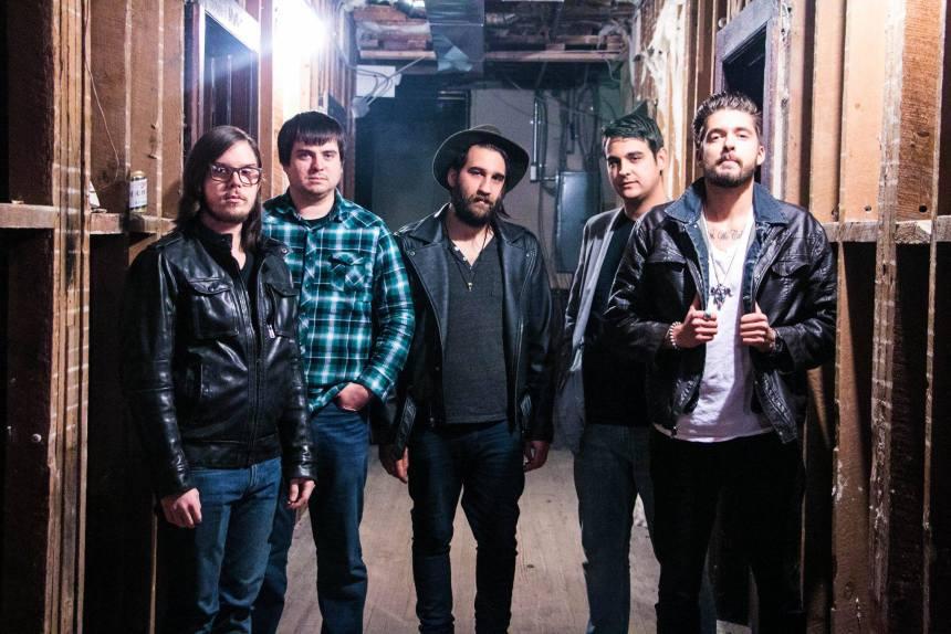 Joe Mansman and The Midnight Revival Band; photo courtesy the band via Facebook.