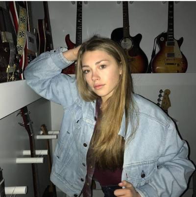Singer/songwriter Chloe Baker is the heart of Bitter's Kiss; photo courtesy Bitter's Kiss via Facebook.