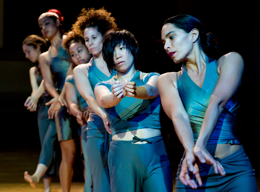 """Boston-based Danza Orgánica, a Boston-based Contemporary Dance Theater Company directed by choreographer Marsha Parrilla, will stage a free performance based on their project, """"Running in Stillness,"""" on February 24 at the Boys and Girls Club; photo courtesy Jacob's Pillow."""