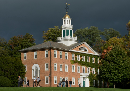 Griffin Hall; image courtesy Williams College.