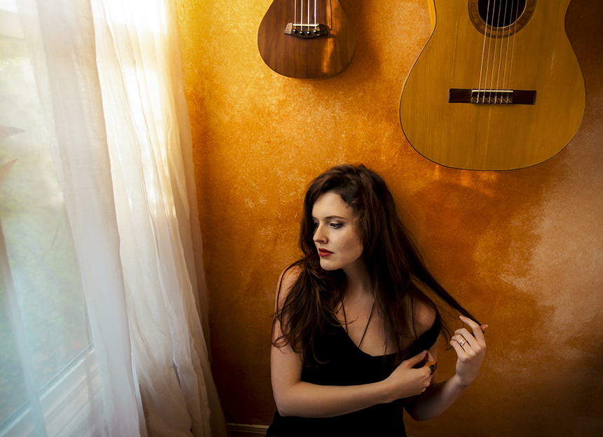 """The long-awaited solo project from Halie Loren, """"From the Wild Sky,"""" dropped at the end of April. Our obsession with these eleven tracks shows no sign of letting up; photo by Sally Sheldon."""