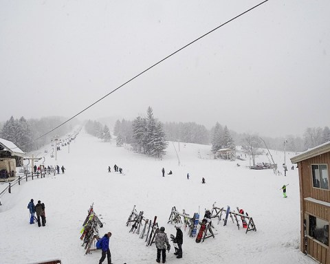 Bousquet Ski Area; photo by P. S. F. Freitas