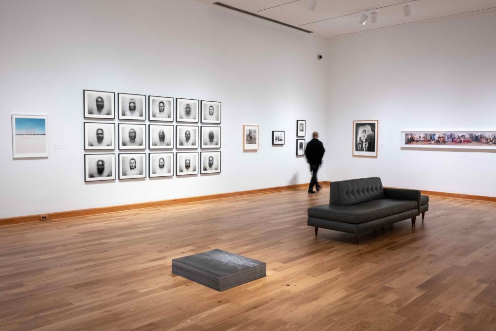 Possible Selves: Queer Foto Vernaculars, on view at the Williams College Museum of Art now through April 14; photo of installation by Brad Wakoff.