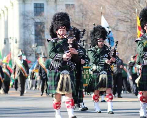 Albany pulls out all the stops in their St. Patrick's Day festivities, including the parade, which starts at 2:00 p.m.; photo courtesy Discover Albany.
