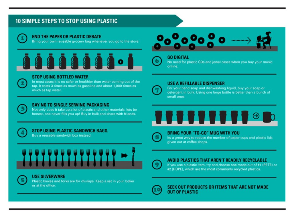 "Image taken from infographic, ""The Truth About Plastic,"" courtesy reusethisbag.com"
