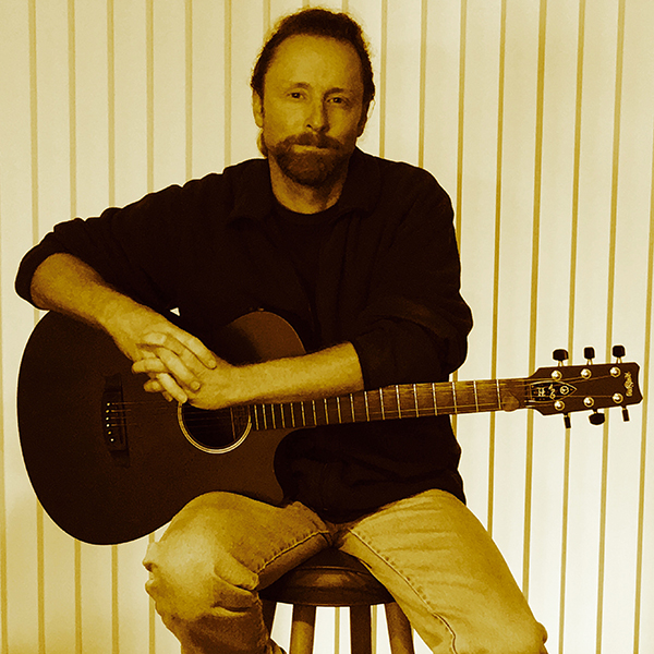 Photo of featured musician: Brett Allen Gregory, is a singer-songwriter and guitar instructor based in Livermore Calif.; submitted photo.
