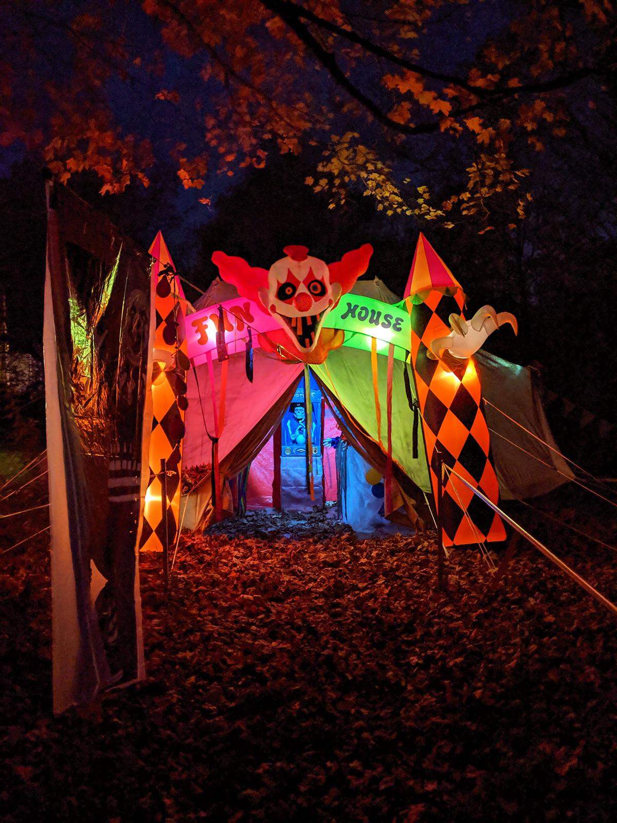 The Haunt Halloween Trail; photo by Robin Catalano.