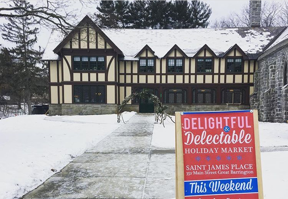 The 2019 Delightful, Delectable Holiday Market will be held at St. James Place.