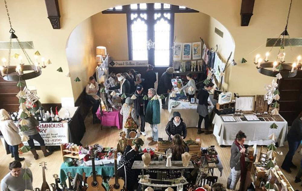 Inside the Delightful, Delectable Holiday Market in Great Barrington.