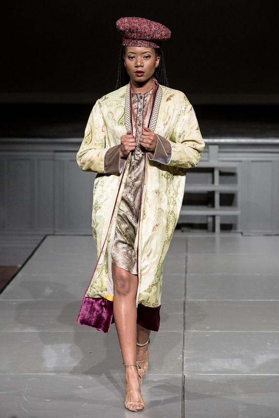 Designs by deMarchin at the 2nd Annual Forever Young Fashion Show; photo by Doug Mitchell.