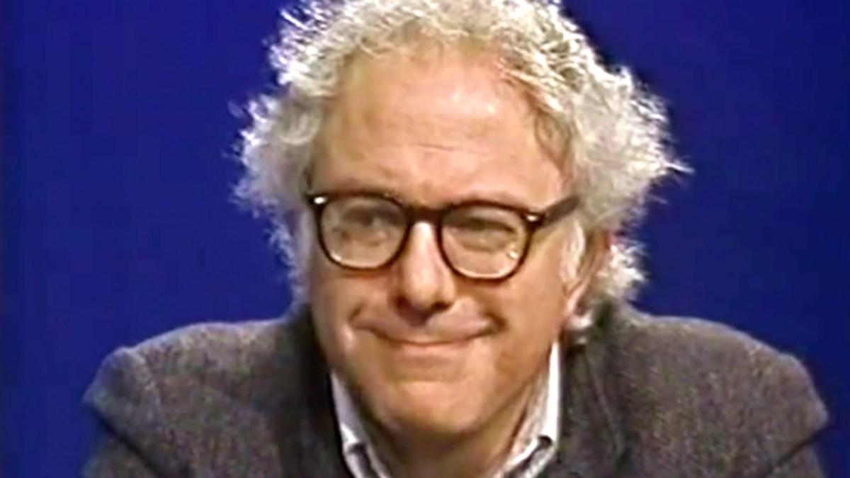Bernie Sanders, 1988; photo courtesy The Daily Conversation