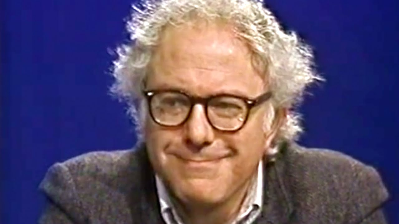 Bernie Sanders, 1988; photo courtesy The Daily Conversation