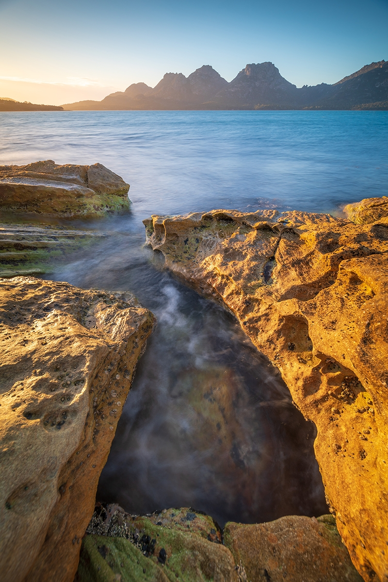 "Originally aboriginal territory that was granted to a Scottish captain in the 1800s, Picnic Island, off the coast of Australia, is an idyllic place to get ""marooned."" Photo by Luke Tscharke."