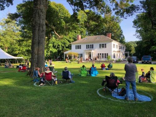 Weekly outdoor live music series continues at Mill + Main in Dalton @ Mill + Main | Dalton | Massachusetts | United States