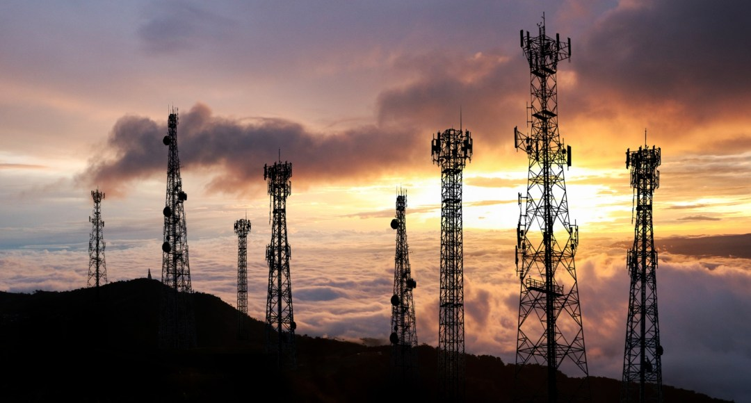 Above: Antenna Telephone and communication towers; photo by Serd Thongchai, via Shutterstock.