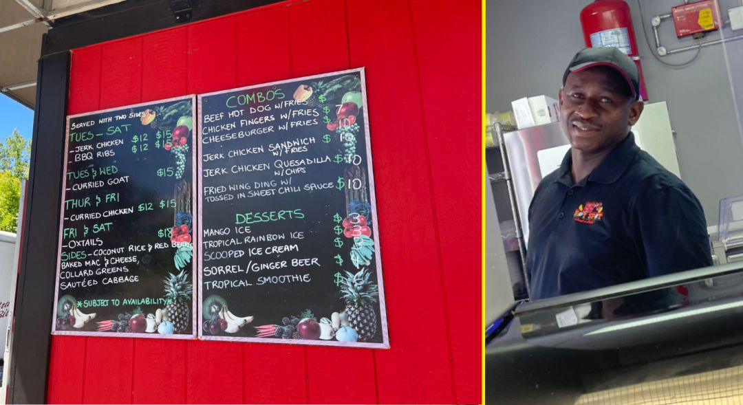 Ronny Brizan, owner and chef behind BB's Hot Spot; photo by Isabel Costa.