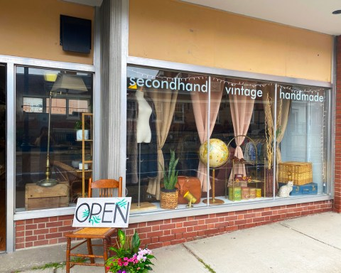 photo of the exterior storefront of Terra.