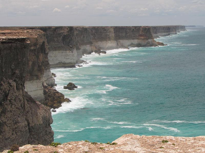 Great Australian Bight - looking east