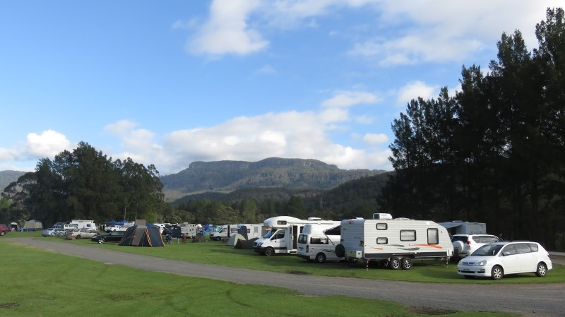 Bendeela NSW free camp