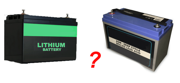 Lithium vs AGM Batteries