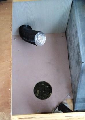 Caravan heater install 2
