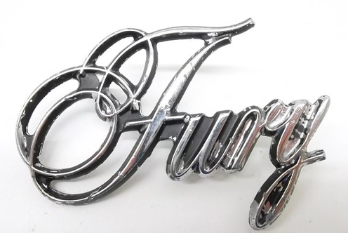 1975-78 Plymouth Fury Emblem