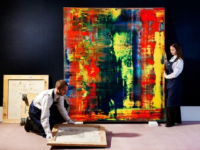 Gerhard Richter - Abstraktes Bild (809-4)