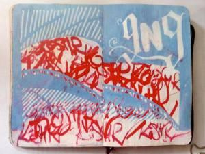 ian rogers sketchbook 5-day challenge 10