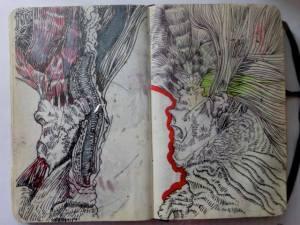 ian rogers sketchbook 5-day challenge 14