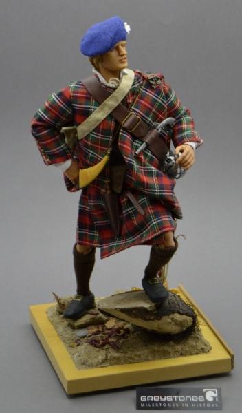 Jacobite Highlander Figure 1745 Rebellion Greystones