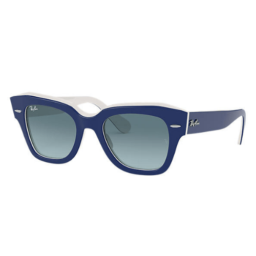 Ray-Ban - State Street Blue on white