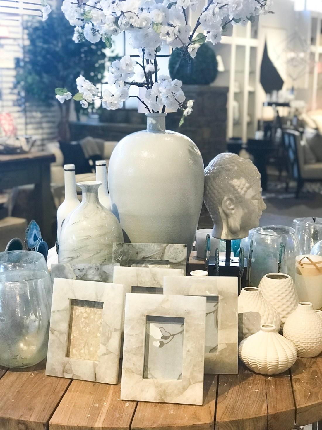 Marble Frames & Vases