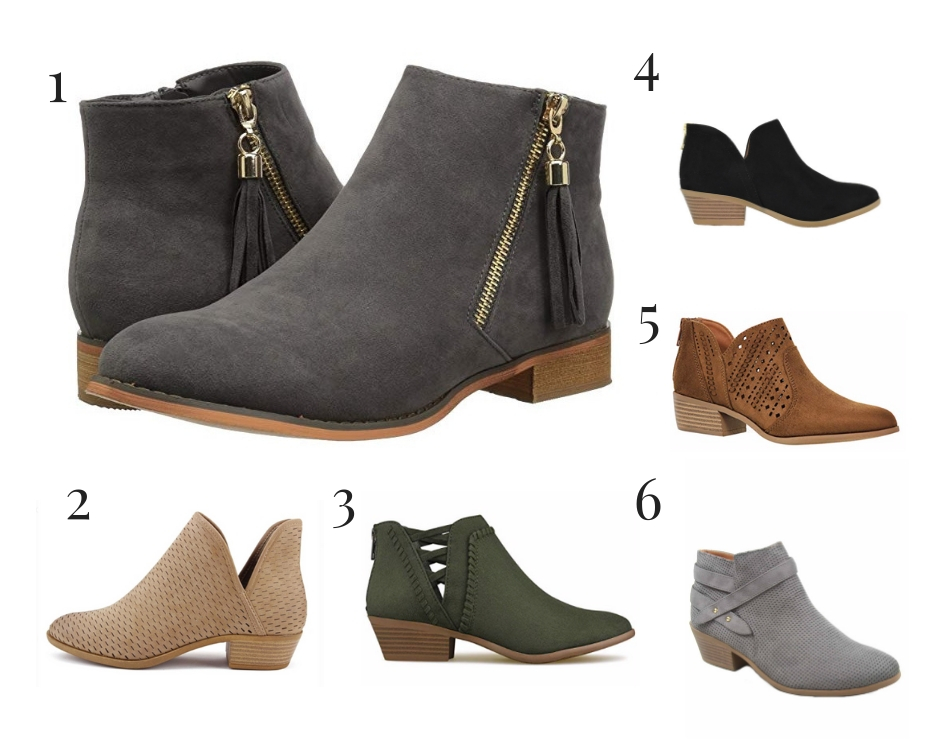 Fall Affordable Ankle Boots