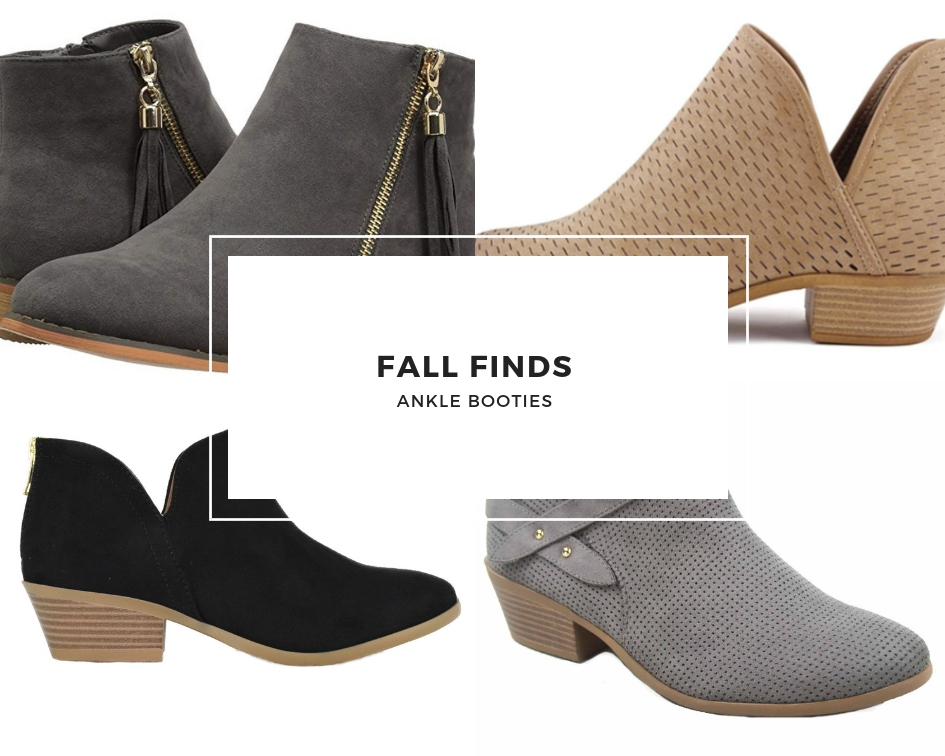 Fall Finds- Ankle Booties