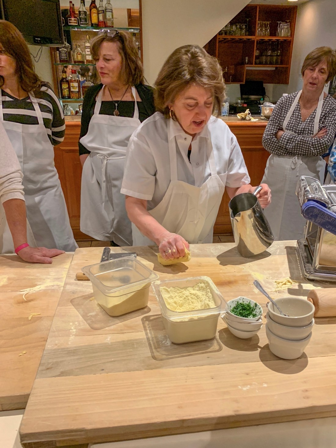 Cooking Class with Maria Marchetti at Columbus Park
