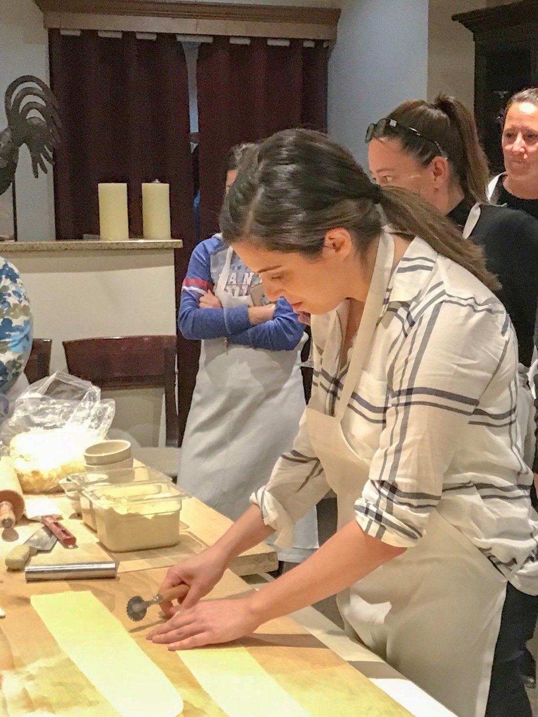 Mariam Cutting Ravioli