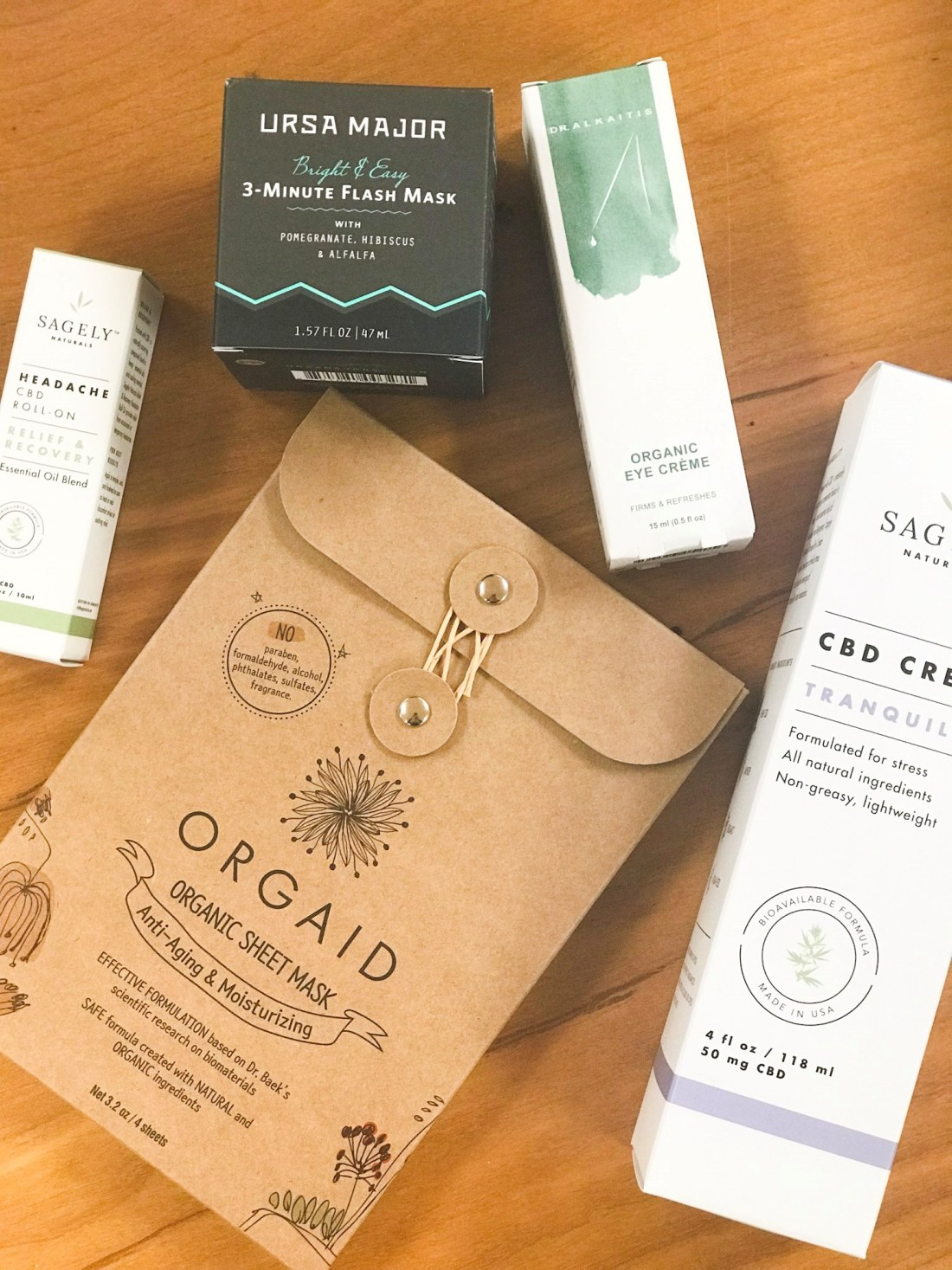 Organic, All-Natural Products