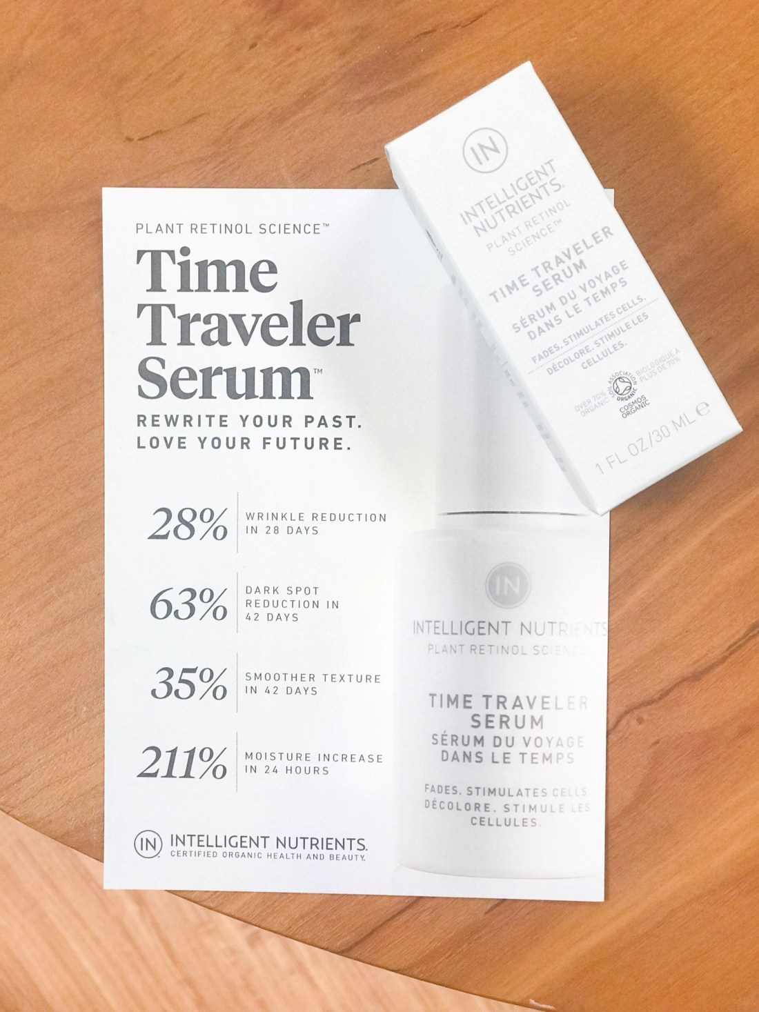 Time Traveler Serum