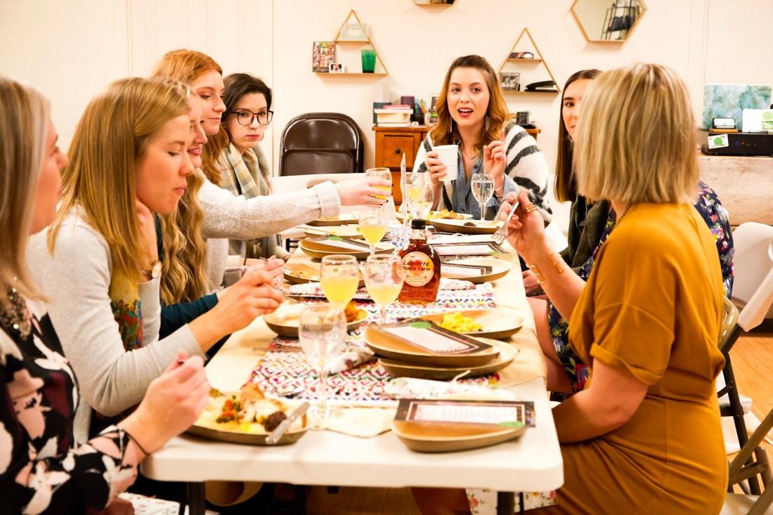 Ladies at Blogger Brunch